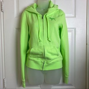 Victoria's Secret LOVE PINK lime green Jacket S